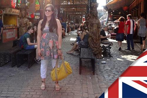 Chloé est partie faire du bénévolat en Angleterre, à Londres, chez Oxfam