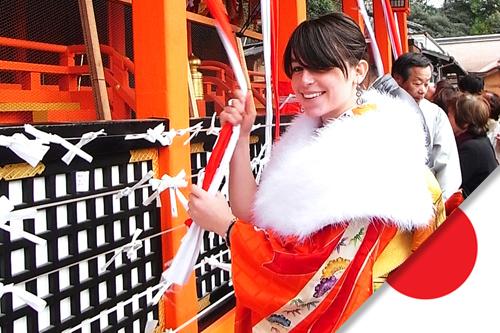 Elodie est partie faire uné change universitaire au Japon, à Osaka