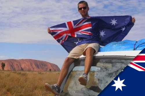 Marc-Antoine est parti faire un working holiday en Australie