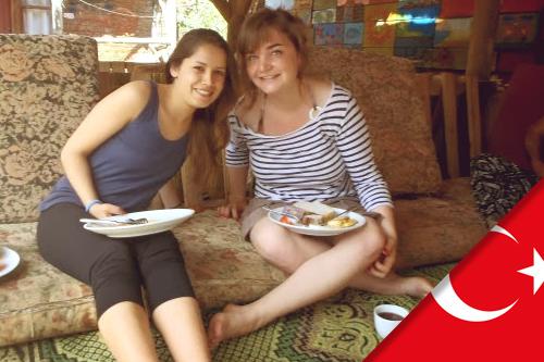 Charlotte est partie en Erasmus en Turquie, à Antalya