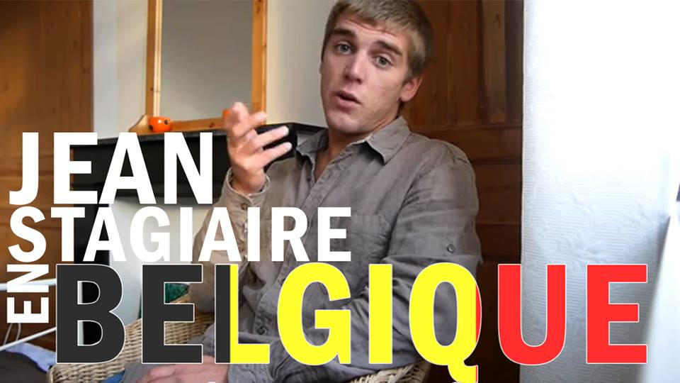 Jean en stage en belgique