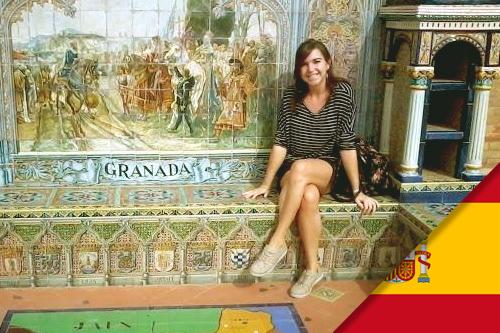 Claire est partie en Stage en Espagne, à Grenade