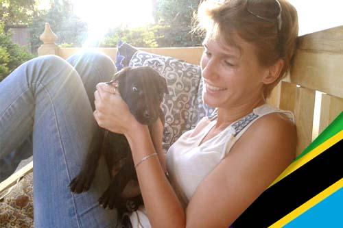 Cynthia, expat en Tanzanie