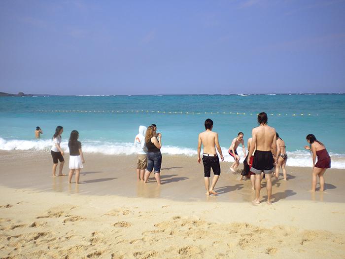 Vivre au Japon, les plages d'Okinawa