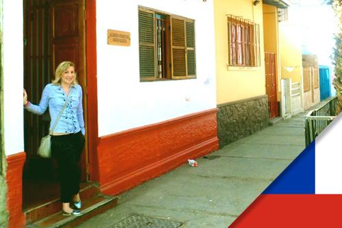 Maria est professeur de FLE au Chili dans une alliance française