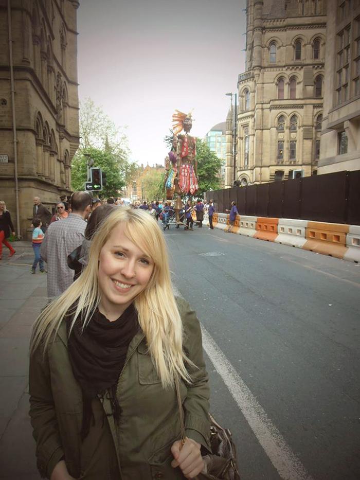 Claire et Manchester