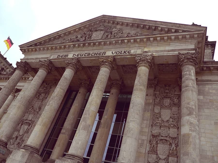 Le bundestag, Berlin - travailler à Berlin