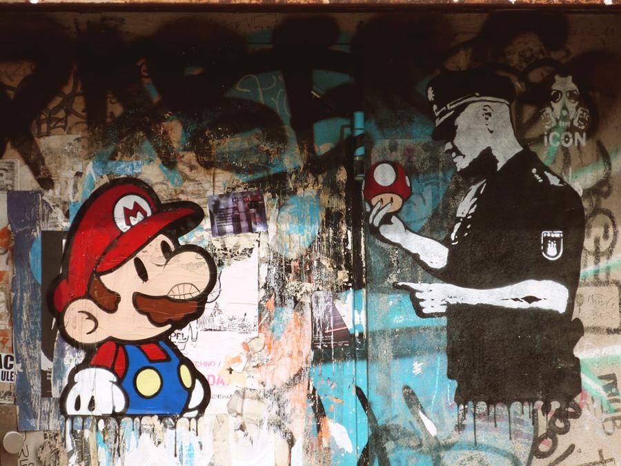Street art à Berlin - travailler à Berlin