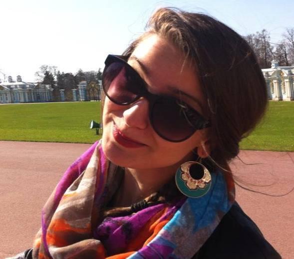 Maggie en Russie