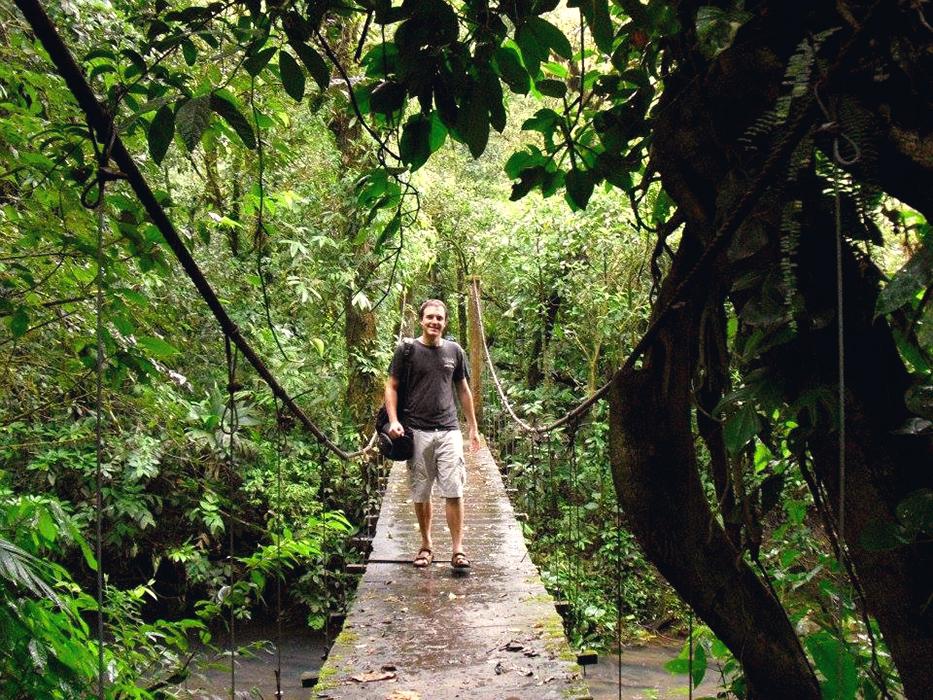 Le séjour linguistique de Jean Baptiste au Costa Rica