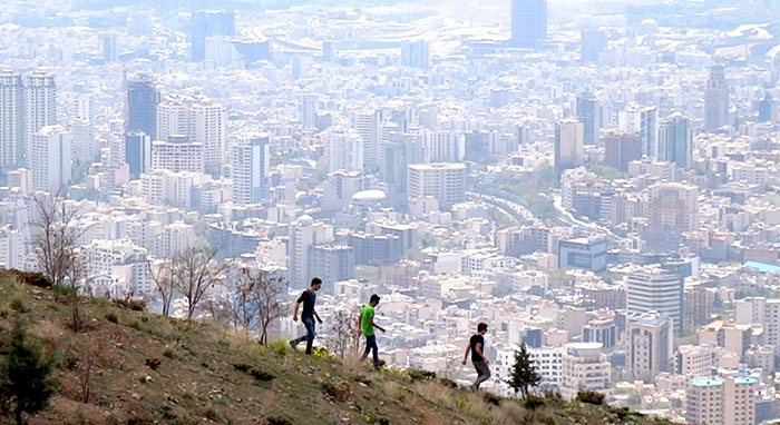 Montagne Tochal, Iran