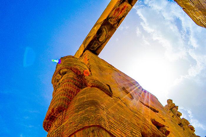 Porte des nations, Persepolis