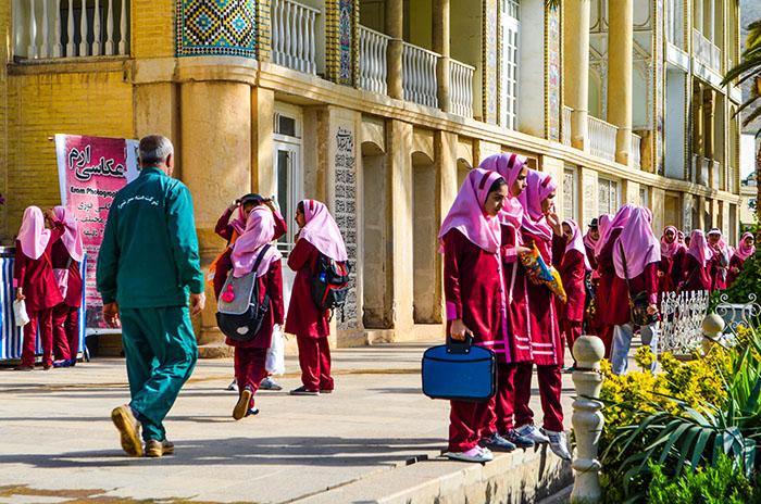 écolières en Iran
