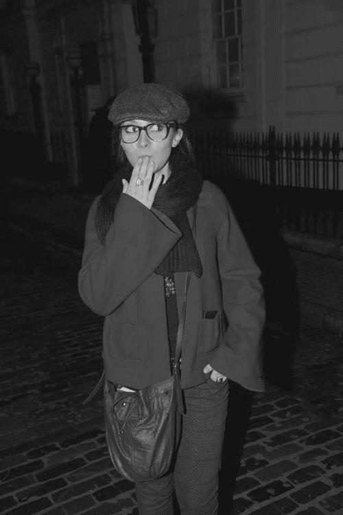 Candice, actrice à Londres