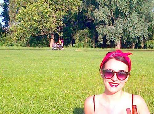 Parc à Londres