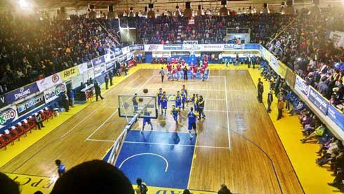 Basketball au Chili