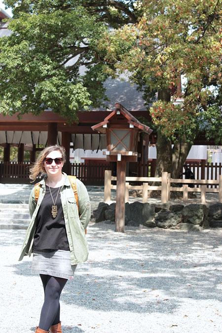 la vie d'Amélie au Japon