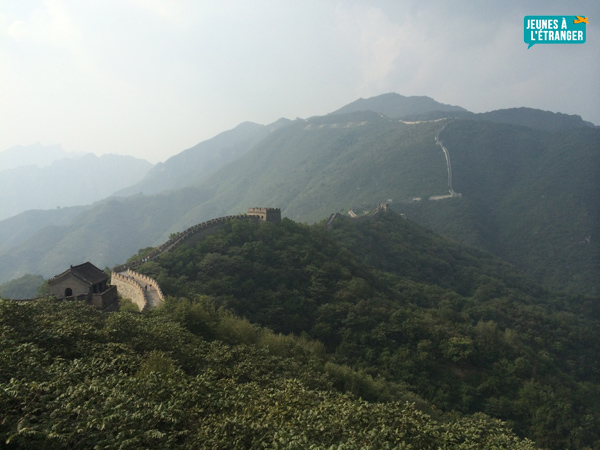 paysage chine grande muraille
