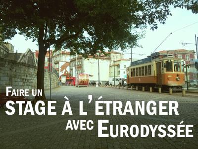 stage à l'étranger avec eurodyssée