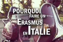 Pourquoi faire un Erasmus en Italie