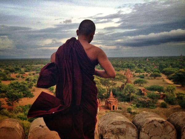 moine bagan birmanie