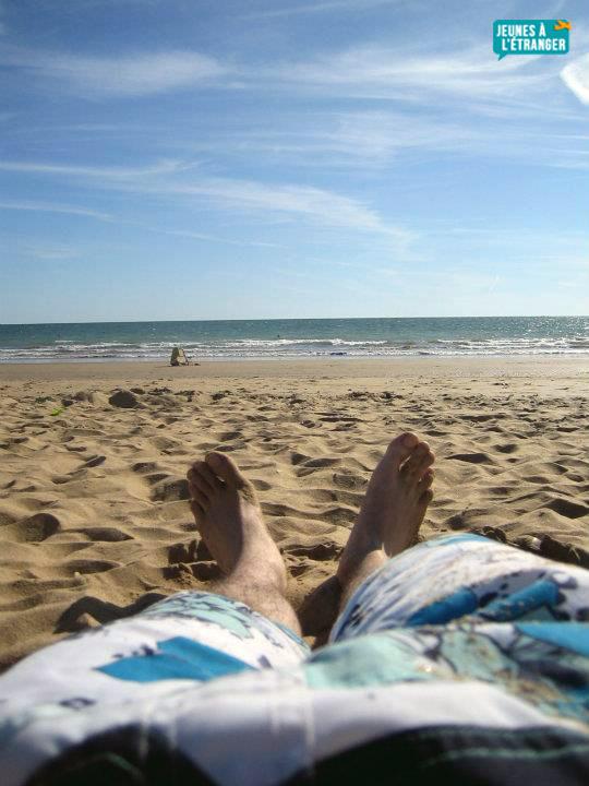 plage andalouse en espagne