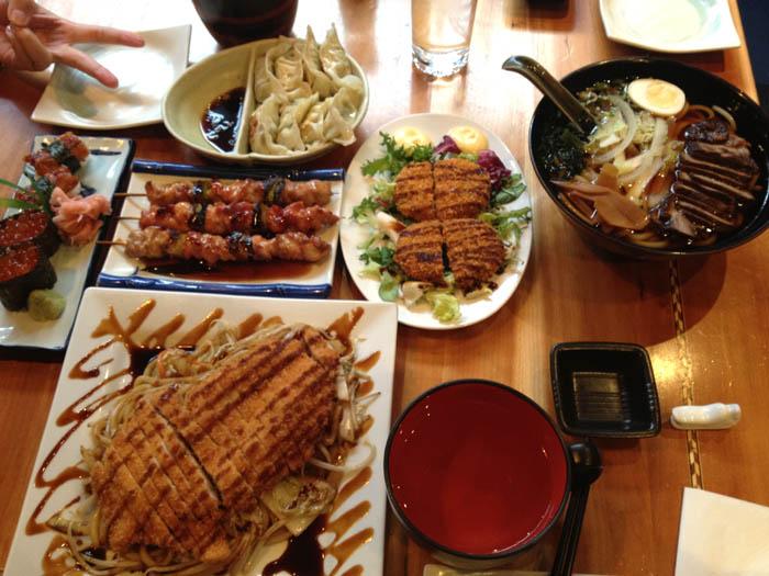 repas japonais edimbourg