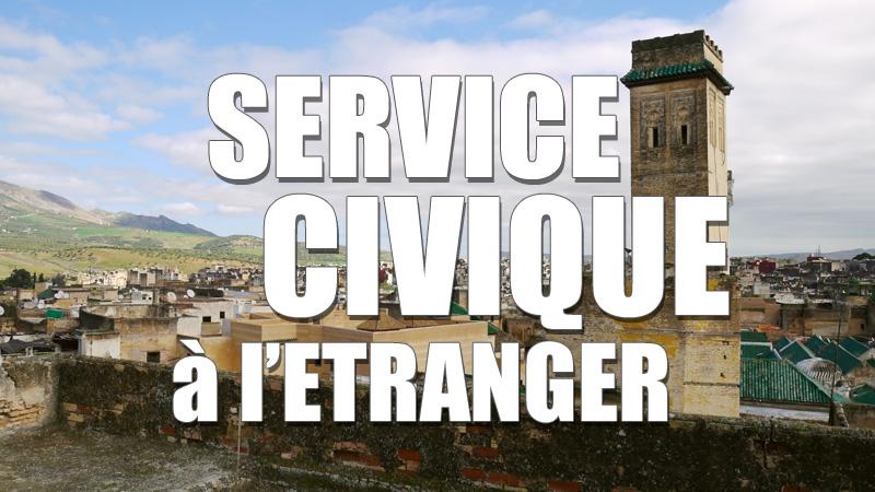 Travailler à l'étranger avec le service civique