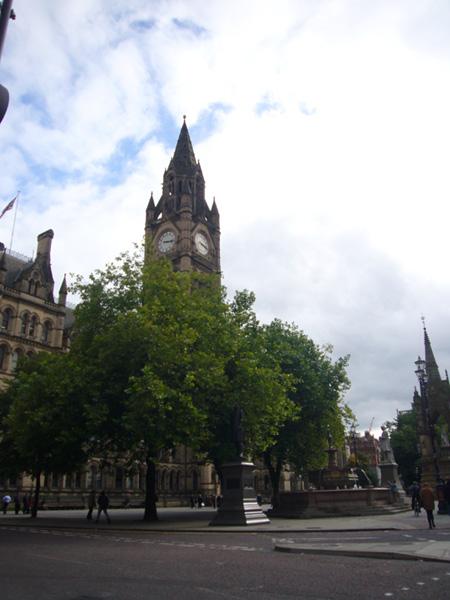etudes université de Manchester