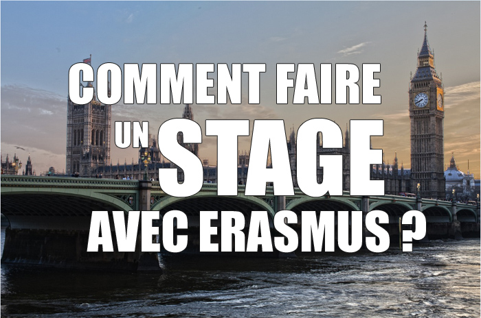 comment faire stage erasmus
