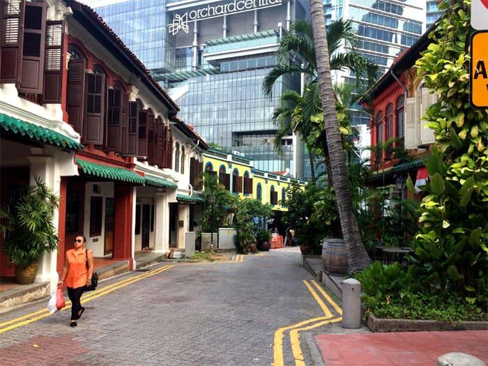 vivre a singapour