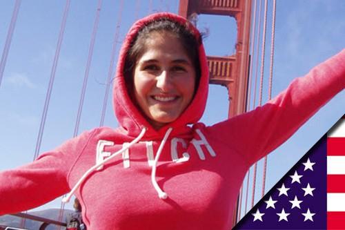 Justine est partie aux USA avec le programme AFS