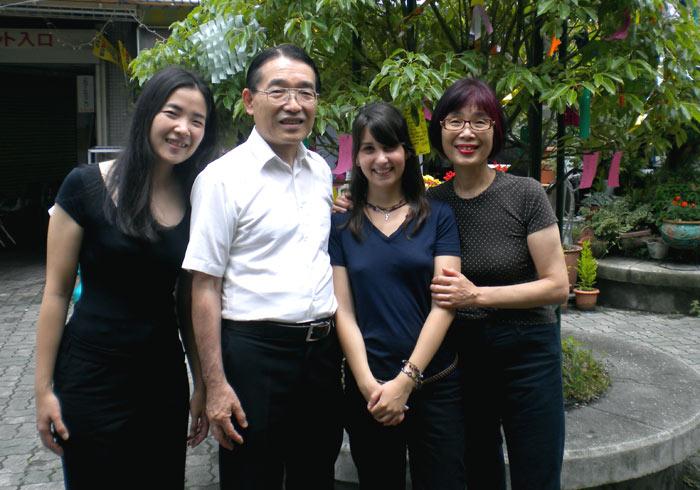 famille accueil japon