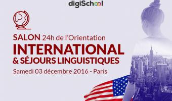Etudier à l'étranger: le salon incontournable pour réussir son expérience à l'international le 3 décembre