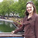 Justine, expatriée à Londres