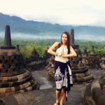 Coralie est partie en échange universitaire en Indonésie