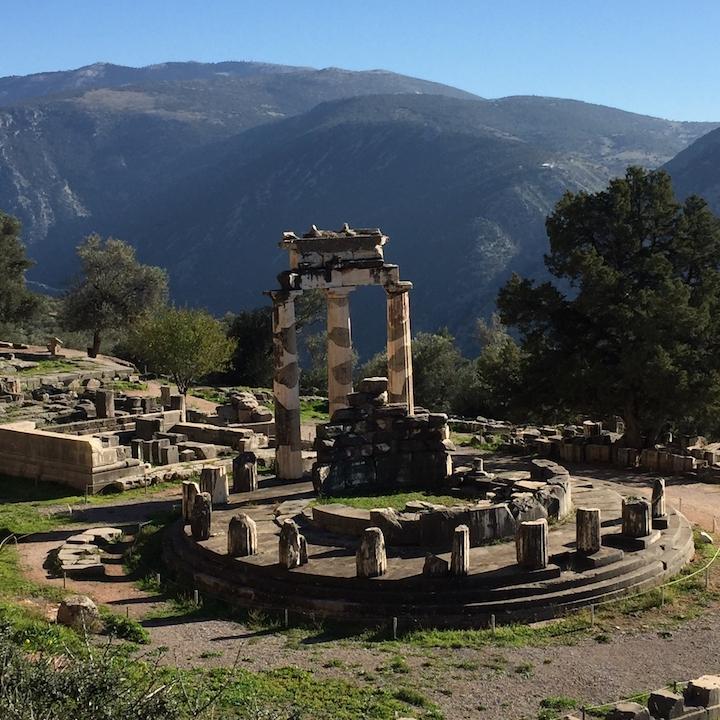 sanctuaire athena delphes