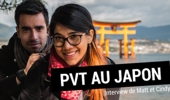 PVT au Japon : interview des blogueurs Matt et Cindy