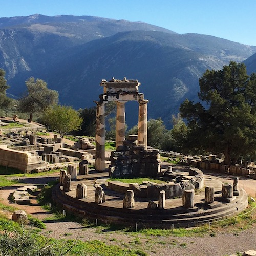 Delphes grece